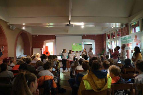 Basisschoolleerlingen presenteren duurzame ideeën